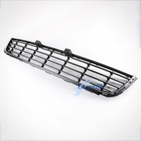 FRONT BUMPER CENTER LOWER GRILLE GRILL W/CHROME FOR Volkswagen VW Golf MK6 10-13