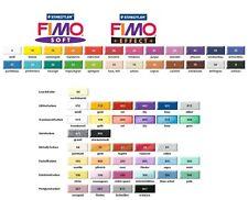 (3,21€/100g) FIMO soft 57g effect neon leder Modelliermasse Knete Staedtler