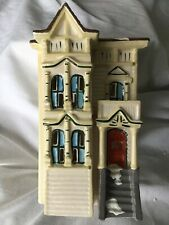 New ListingDept 56 Snow Village® Pacific Heights House 1986 Mint Condition