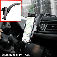 1Pcs Aluminum Car Air Vent Mount Cradle Holder Stand For Mobile Cell Phone GPS