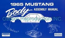 Mustang Assembly Manual Body 1965 - Osborn Reproductions