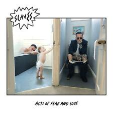 Slaves Acts of Fear and Love LP Vinyl Europe Virgin 2018 9 Track Standard Black
