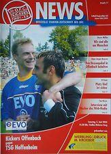 Programm 2003/04 OFC Offenbacher Kickers - 1899 Hoffenheim