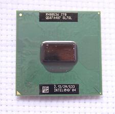 Intel Pentium M 770 P4M SL7SL 2.13GHz 2M 533MHZ FSB SOCKET 479 Mobile Test Work!