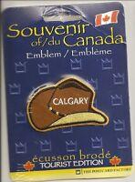Calgary Alberta Souvenir Canada Patch