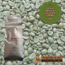 Caffè Verde in grani Miscela Esclusiva Strong 1 Kg - Caffè Monorigine Arabica