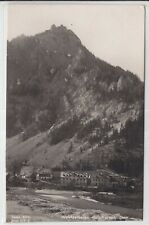 AK Weichselboden, Kirche, Hotel Post, Foto-AK um 1935