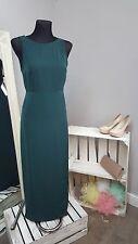 Asos seleccionado Teodora Maxi vestido con tiras en Verde Pino (5)