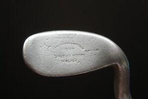 Antique Vintage hickory golf club memorabilia Gibson Anti Shank Niblick