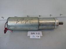 Dunkermotoren GR 80x80, U = 60 Volt, I n = 4,2 Amp., 3350 1/min., mit Getriebe