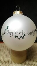 And they lived happily a Heart Gift ornament by Teresa Thibault (Hand painted) i