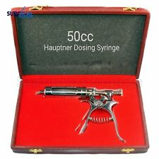 50cc Hauptner Syringe for Accurate & Correct Dosing Stainless Steel Feeder