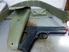 vintage 1965 Kusan plastic toy gun, holster & belt, NEW amazing condition toy