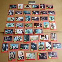 "SELECTION OF TOPPS 1977 US RED CARD  ""STAR WARS BUBBLE GUM CARDS""  FREE UK P/P"