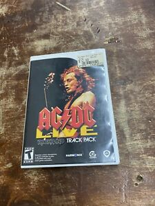 AC/DC Live: Rock Band Track Pack (Nintendo Wii, 2008) Complete w/Manual