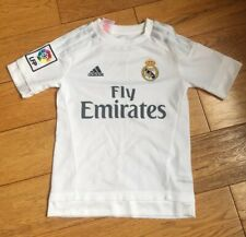 Kids Childs Adidas Real Madrid Football Top Shirt Age 6/7 Years