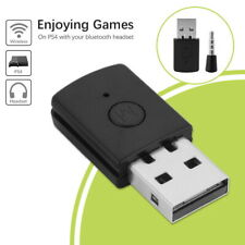 PS5/PS4 Bluetooth Wireless USB Adapter Dongle Receiver for Headphone Microphone