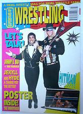SUPERSTARS OF WRESTLING MAGAZINE ISSUE 7 /PRE POWER SLAM /1992 UNDERTAKER POSTER