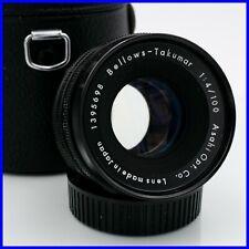 ASAHI PENTAX BELLOWS-TAKUMAR 100mm f4 M42 Screw mount a vite vintage macro lens