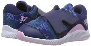Toddler Adidas Fortarun Running Shoe B41786 Color Dark Blue/Clear Lilac New