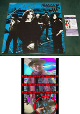 """GORD DOWNIE signed Autographed """"THE TRAGICALLY HIP"""" ALBUM LP - EXACT PROOF - JSA"""