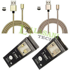 Fast 360° Charging Cable Magnetic Charger Connector For Type-C Android New UK