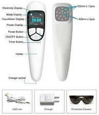 Cold Red light  Laser, Multi Infrared Heat  Mat &Massage Gun - Muscles pain Ease