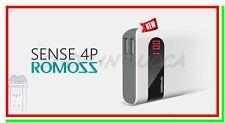 power bank ROMOSS SENSE 4P 10400mAh caricabatteria esterna x iphone ipad galaxy