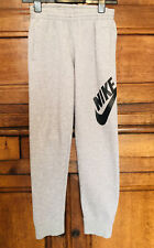 Nike Boys Grey Track Bottoms - Joggers Age 12-13 / Large Youth