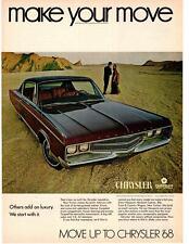 1968 Chrysler New Yorker 440 V-8 TorqueFlight Automatic 2-Door Hardtop Print Ad