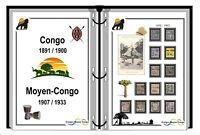 Album de timbres à imprimer CONGO FRANÇAIS et MOYEN CONGO