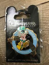 Pin's Cast Member Disneyland Paris Chapelier Fou