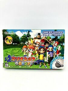 GAME BOY ADVANCE GBA - Mario Golf GBA Tour - JAPAN VERSION Completo