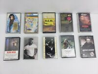 ROCK N ROLL CASSETTE TAPES 10 Pc. LOT #3