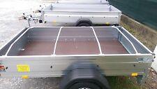 4x Alu Bügel für Flachplane, Ideal für PKW Anhänger 1,0 - 1,45m verstellbar U+