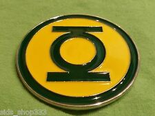 GREEN LANTERN LOGO ~ CLASSIC HAL Jordon METAL BELT BUCKLE ~ great for comic con
