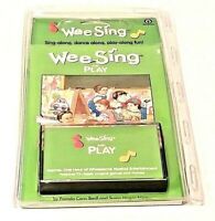 NEW WEE SING AND PLAY AUDIO CASSETTE AND 64 PAGE SONGBOOK