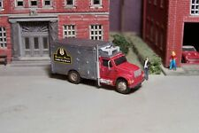 N scale Custom Built 1980s IH Refrigerated S.P. Golden Pig Truck