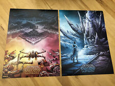 Star Wars The Rise Of Skywalker 2/4, 3/4 IMAX Limited Edition Cinema Posters