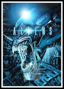 Aliens 2  Poster Greatest Movies Classic & Vintage Films