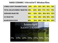 50% Nano Ceramic Tint 1 roll 60 inches x 50 feet Intersolar® Made in USA  HQ