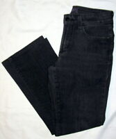 Not Your Daughters Jeans NYDJ Lift Tuck Black Bootcut Womens Size 0 (27 X 26)