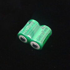 2x CR-2 800mAh 3.0v Rechargeable Battery For Fujifilm fuji instax mini 20 55 55i
