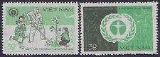 VIETNAM N°364B/3647C** JOURNEE  DE L'ENVIRONNEMENT, 1982 Vietnam #1218-1219 MNH