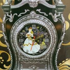 LIMITED Disney  Castle Clock L Belle Beauty and Beast  Game Prize Item Japan