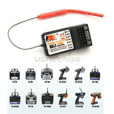 Fly Sky FS-R6B 2.4G 6 Channel Receiver For RC Car Boat Transmitter FS-T6 TH9X