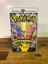 Pokemon The First Movie VHS Video Tape Warner Brothers