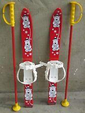 Babyski Lernski 70cm Kinderski für Kinder in Fabe Rot