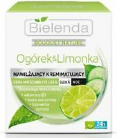 Bielenda Cucumber & Lime Mattifying Combination Oily Skin Cream Day/Night