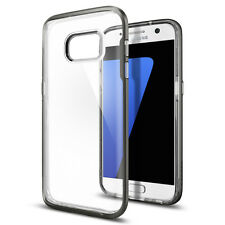 [Spigen Outlet] Samsung Galaxy S7 Case [Neo Hybrid Crystal] Gunmetal Bumper TPU